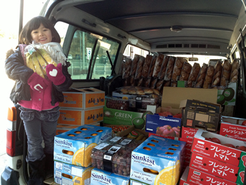 Kozmoz Food Bank Kansai delivered over 300,000 kg of food in 2013
